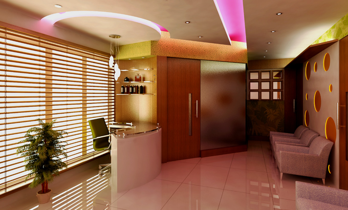 Commercial Interior Beauty Parlour